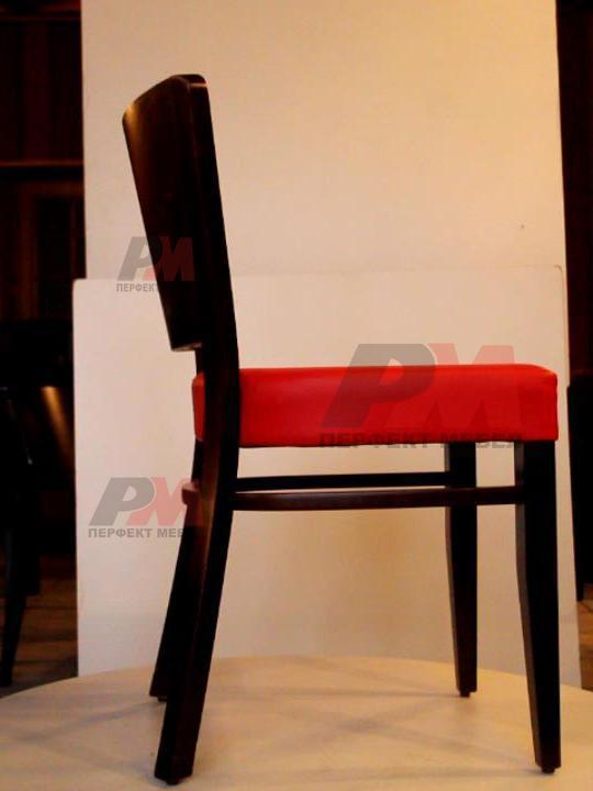дървени столове за лоби бар за вътрешни пространства