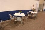 Алуминиеви столове за хотел с различни визии