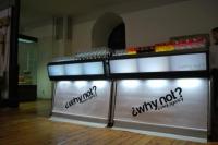 Мобилни светещи барове под наем